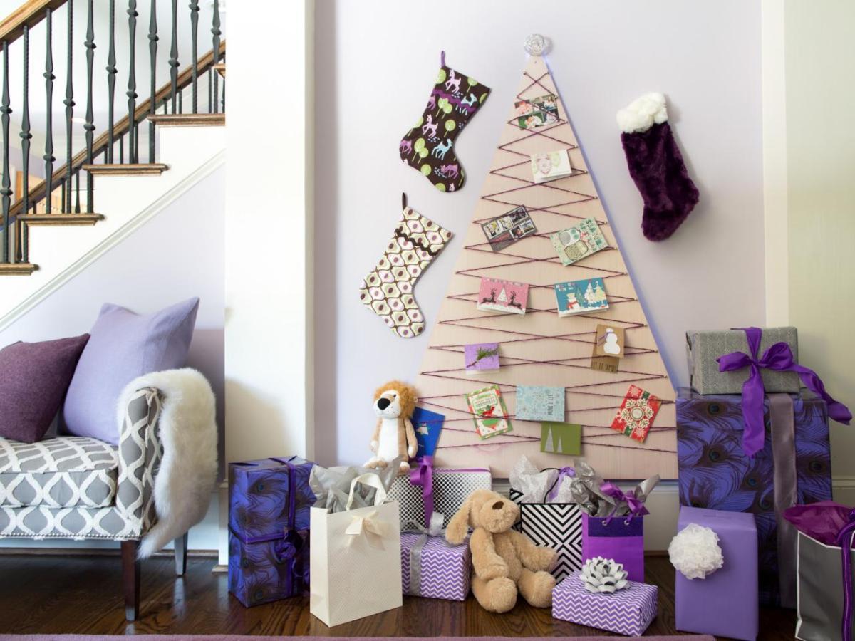 Alternatív karácsonyfák - ha unod a tűlevelet