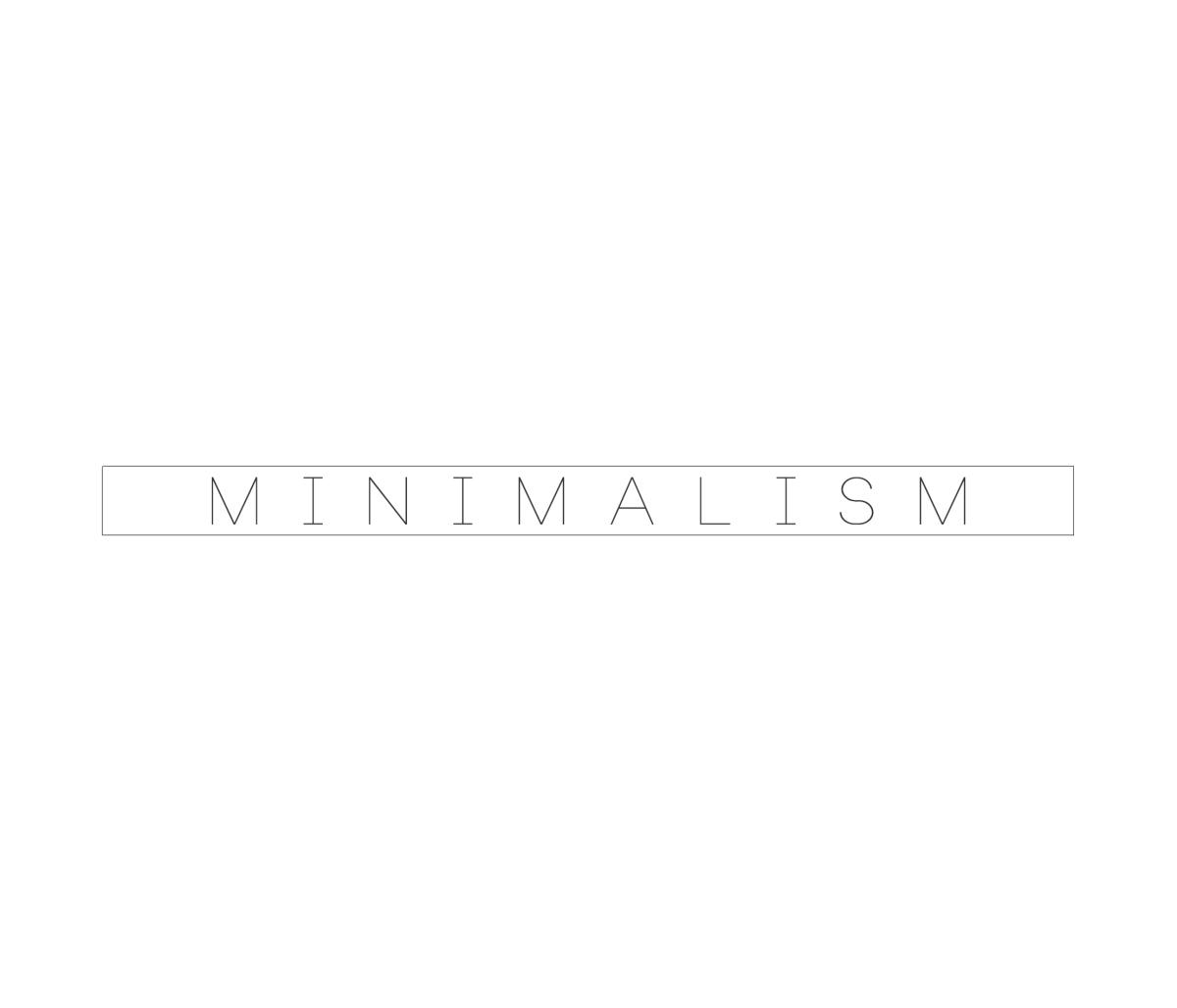 Minimalizmus - az elme tisztítószere