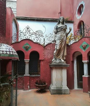 Ódon villa Anacapriban