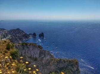 Gyönyörű kilátás Anacapriról